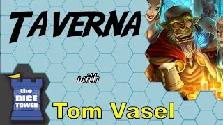 Taverna review - with Tom Vasel