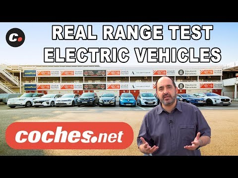 What is the range of electric cars in 2018? | REAL RANGE TEST | English Version | coches.net