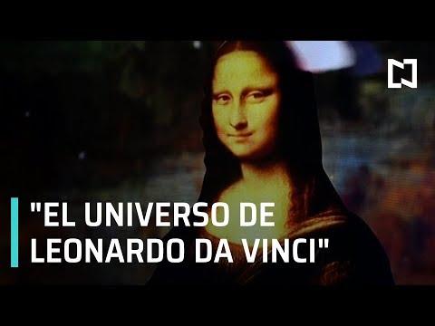 El Universo de Leonardo da Vinci' llega al Zócalo de CDMX - Sábados de Foro