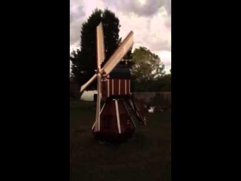 1/5 scale replica Dutch windmill