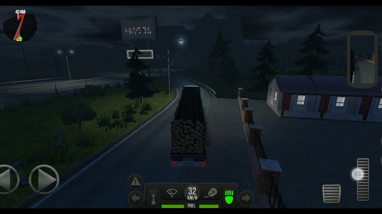 Simulator Truck bawak kayu balak - YouTube