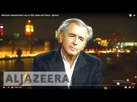 Web Extra: Bernard-Henri Levy on ISIL, Islam and France - UpFront