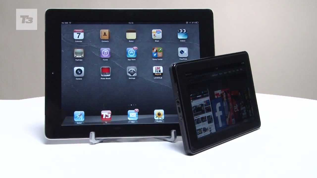 Apple Ipad Vs Kindle: Amazon Kindle Fire Vs Apple IPad 2 Review Comparison