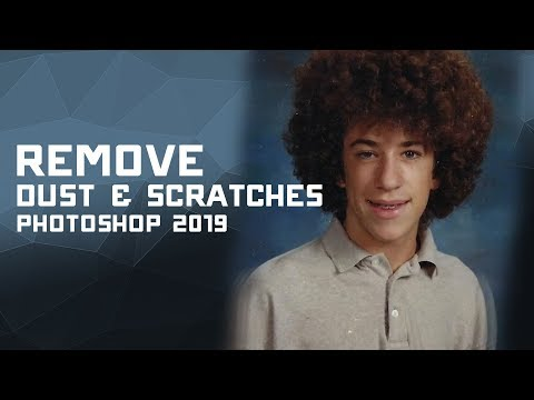 How to Remove Dust & Scratches in Adobe Photoshop