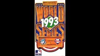 1993 World Series Blue Jays vs. Phillies