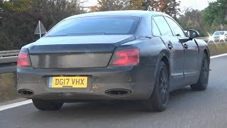Bentley Flying Spur 2019 - Barely Disguise Prototype