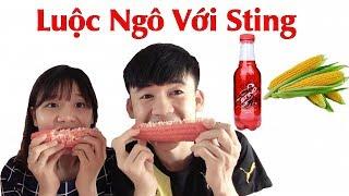 Hưng Vlog - Luộc Ngô Với Sting Cho Người Yêu Ăn Sẽ NTN | Troll Người Yêu