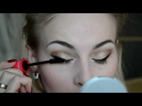 Красивый дневной макияж для голубых глаз (Makeup For Blue Eyes)