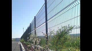 видео Сварной забор на заказ, преимущества