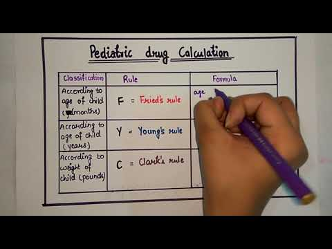 Drug Dose Calculation - Part 2