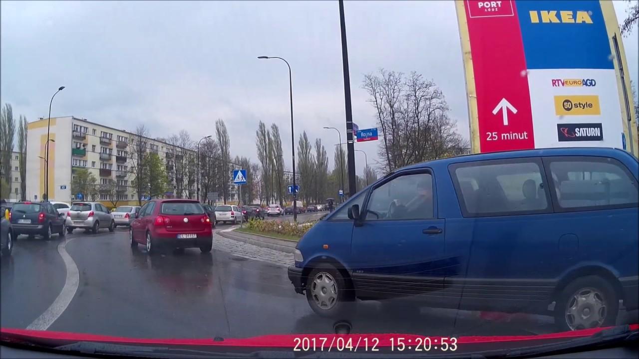 blisko stłuczki + radość - Łódź (close to fender-bender + joy)