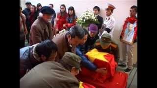 Phần 1 /3  Lễ đón nhận hài cốt liệt sỹ Nguyễn Phong Lưu và liệt sỹ Nguyễn văn Quyết