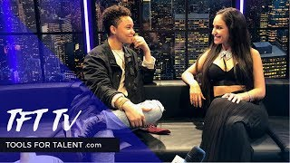 TFT TV - Cheryl Martinez Interviews Social Media Star & Dancer Shereen Jenkins