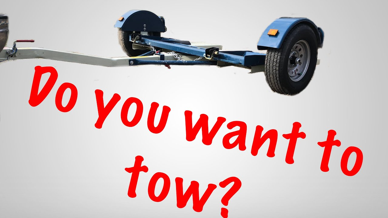 Review And How To Use A Car Dolly Youtube