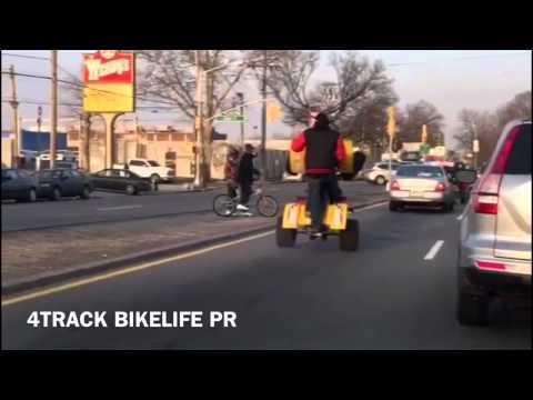 Banshee Drift the corner,, Bikelife | FunnyDog TV