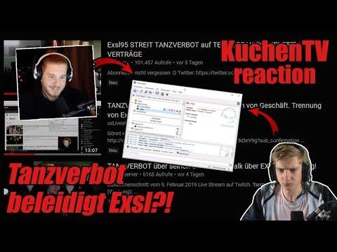 KuchenTV reagiert auf TANZVERBOT beleidigt Exsl95 bei UNGE Livestream 😱