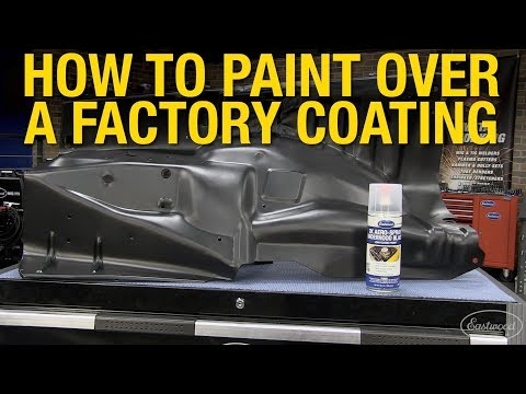 How to Prep & Paint Over A Factory Coating - Easiest Way to Apply a Durable Paint! Eastwood