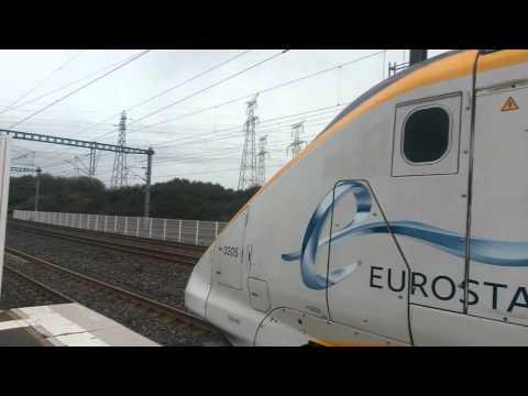 Eurostar Calais Frethen Tgv for Brussels Midi