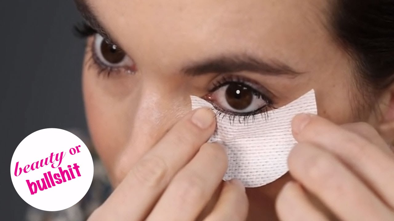 Do these weird stickers for your under eye area actually prevent do these weird stickers for your under eye area actually prevent raccoon eyes beauty or bullshit youtube ccuart Images