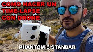 Como hacer un Time lapse con drone - Fail