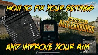 PUBG XBOX ONE- TiPS FOR FiNE TUNiNG YOUR SETTiNGS!!!! (PLUS MY SETTiNGS)
