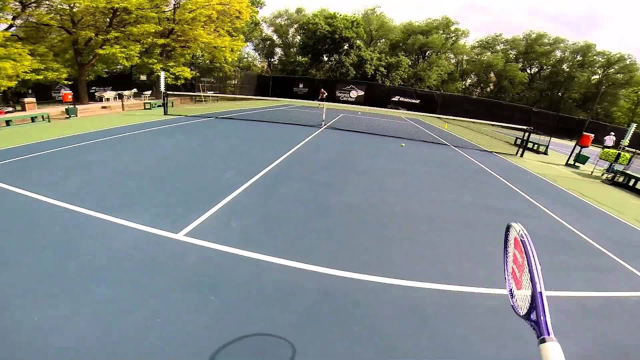 Boulder Tennis Court Youtube Youtube
