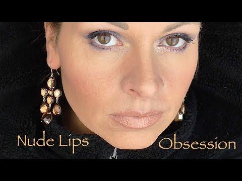 💄 Nude Lips Lippenstifte in NUDE swatch Tragebilder  deutsch HD