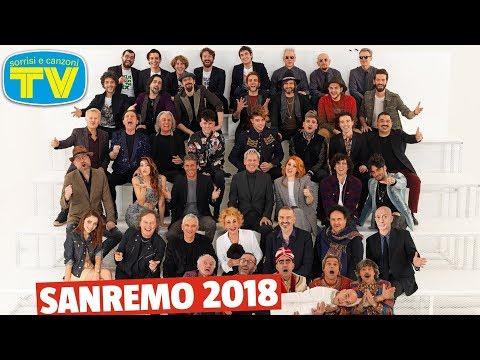 Sanremo 2018: dietro le quinte della foto di copertina di Sorrisi