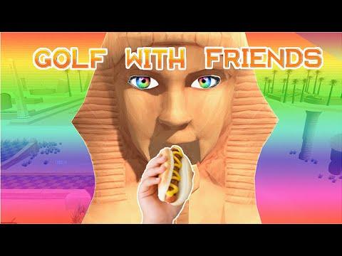SPHYNX LOVES HOTDOGS!!! (Golf with Friends)