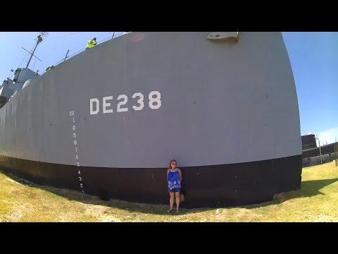 General Lotz's Outdoor Adventure Part 2 USS Stewart