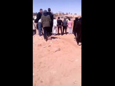 Protestation against Polisario human rights abueses in Tindouf camps