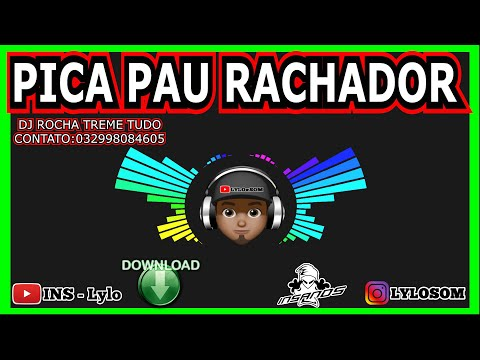 Musica de gravão 2018 para falante 15 18 21 pol pica pau rachadores EQ INSANOS + DJ ROCHA PESADO