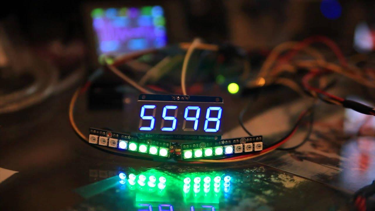 Arduino Shift Light Tachometer v1 0