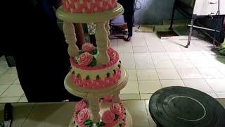 Tutorial tart pengantin 3 tingkat