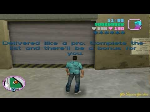 Sunshine Auto's Import Garage – List 1 – GTA: Vice City Side Mission