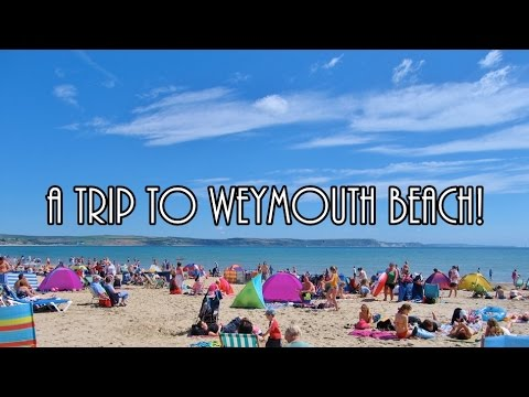 A Trip to Weymouth Beach with Our Friends!
