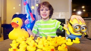 The Nerf Laser Rubber Duckies Adventure part 1