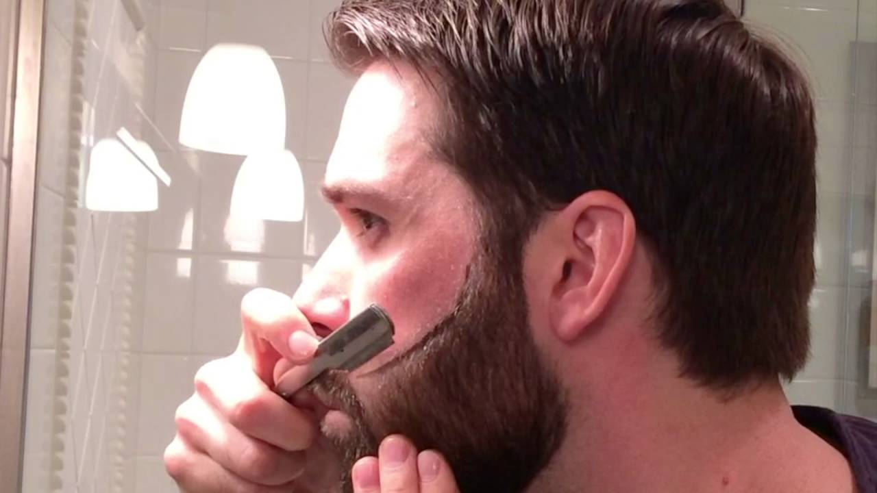 the cut buddy review how to outline your beard symmetrically youtube