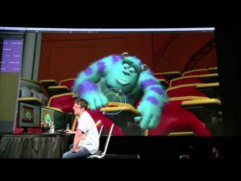 Previz | Pixars Presto demonstration at Nvidias GTC conference 2014