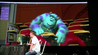 Previz | Pixar's Presto demonstration at Nvidia's GTC conference 2014