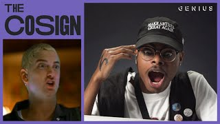 ImDontai Reacts To Classic Hip-Hop Videos (Eminem, Busta Rhymes, Lil Jon) | The Cosign