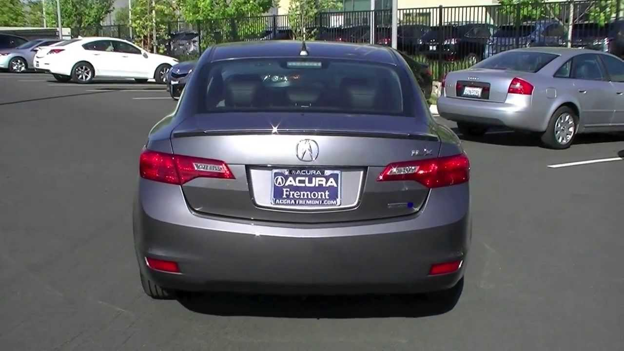 2013 Acura ILX Hybrid CVT with Technology Package In-Depth Review - YouTube