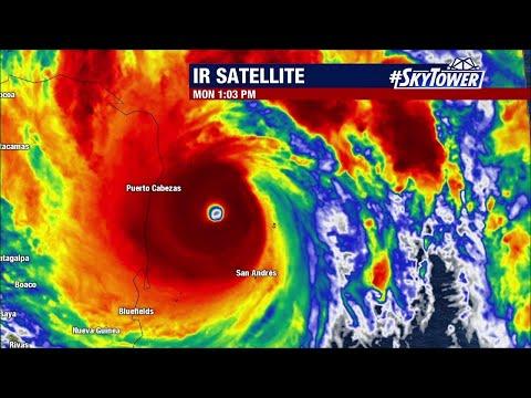 Hurricane Iota update & tropical weather forecast: Nov. 16, 2020