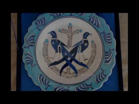 traditional ottoman style painting ottoman iznik tile works turkish islamic art