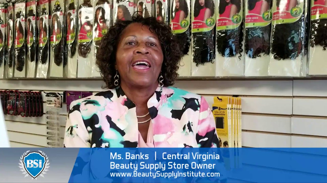 Central Virginia Black Owned Beauty Supply Owner discusses her experience