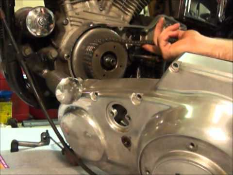 Investigating Sportster clutch noise - YouTube
