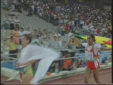 Women's 10,000m Barcelona 92 Olympics