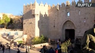 Mobilisation palestinienne contre la reconnaissance de Jérusalem comme capitale d'Israël