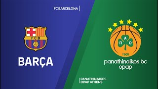FC Barcelona - Panathinaikos OPAP Athens Highlights | Turkish Airlines EuroLeague, RS Round 4