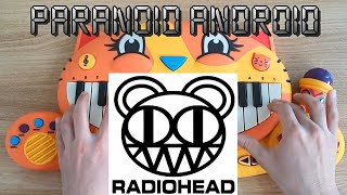 Radiohead - Paranoid Android (Cat Piano Cover) видео